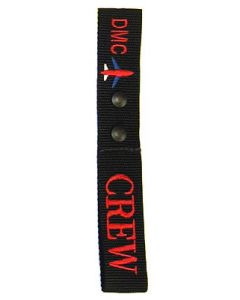 Crew Tag - Double Snap Monogrammed