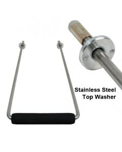 A Stainless Steel Handle Assembly - Stealth Rolling Bags